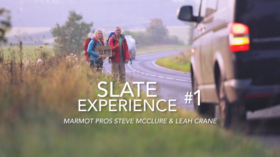 Slate Experience with Leah Crane and Steve McClure (copyright Marmot)